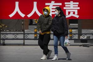Coronakristen började i Kina.  FOTO: Mark Schiefelbein/AP