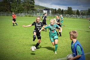 Själevads lagkapten Amanda Berglund gjorde två mål i dagens match.