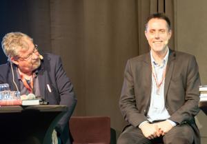 Geir Tangen (med Tomas Melander), norsk författare som steg upp på deckarhimlen med