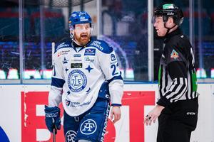 Mattias Ritola har tidigare sagt att han vill ha Patrik Zackrisson till Leksands IF. Foto: Jesper Zerman/BILDBYRÅN
