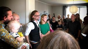 Sara Richert och Fredrik Welander, som tar efternamnet Bronner.Bild: Privat