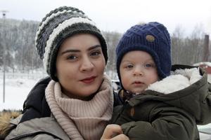 Umran Aydin var många gånger på väg att ge upp kampen för att få flytta till Sverige med sonen Ömer Halis.