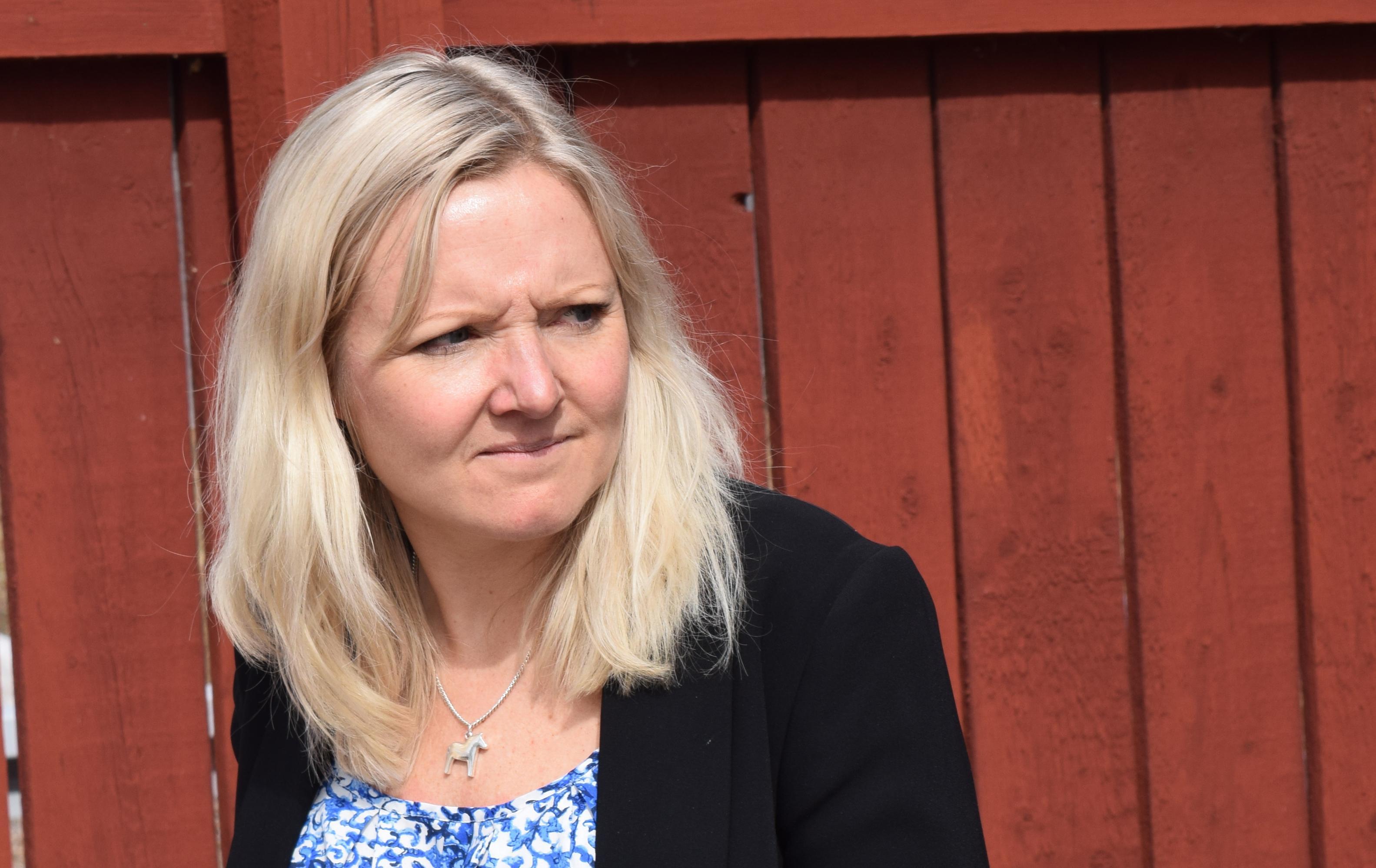Linda Nilsson hoppas på ett markanvisningsavtal före årsskiftet.