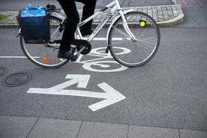 Invigning av cykelväg på onsdag i Borlänge och Mora. Foto: Fredrik Sandberg/TT