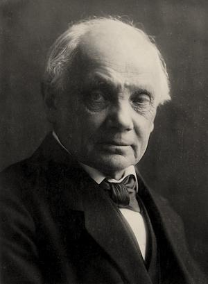 Harald Høffding 1915. Foto: Gyldendal/Rosa Metz-Parsberg