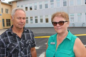 Stefan Andersson och Agneta Carlsson-Byström är väldigt besvikna.