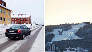 Boende längs med Mogatan från Fridhemsgatan och söderut har återigen fått stå ut med trafiken på väg till Södra berget i vinter. Bilder: Evelina Ytterbom / Mathias Johansson