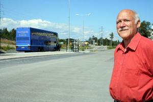 Ingvar Smedjegård © är inte förvånad över den kraftiga kritik som den nya bussturlistan i Timrå fått. Själv ville han i en motion ha en analys innan någon ny bussturlista började gälla.