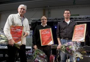 Belönade. Sigward Eriksson blev Årets inspiratör, Juha Kauppinen från Bulten blev Årets grundbult och John Berglund, ägare till Fiskarn i Borgåsund, Årets uppstickare.
