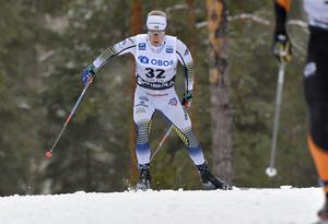 Åsarnas Jens Burman var bäste svensk i söndagens distanslopp på Svenska skidspelen i Falun.