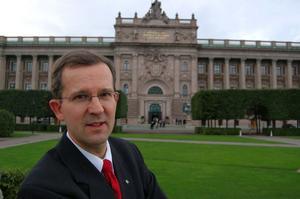 Lennart Sacrédeus åkte ur riksdagen 2010.Foto: Sten Widell.