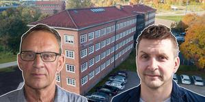 Jan Johansson (M), vice ordförande, kommunstyrelsen och Marino Wallsten (S), kommunstyrelsens ordförande ger sin syn på försäljningen av Brukskontoret.