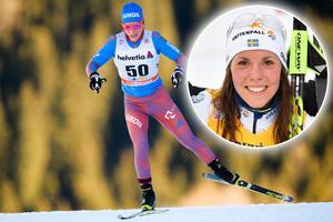 Julia Tjekaleva är en av tre ryska åkare som stängs av från OS. Bild: TT Nyhetsbyrån.
