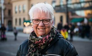 Dagmar Södermark, 76 år, pensionär, Sundsvall: