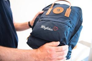 I arbetet med den nya skolan har en ryggsäck fått vara en symbol för ett livslångt lärande. Frågan som har ställts till elever och lärare är hur man packar ryggsäcken med rätt saker så att den inte blir för tung att bära.