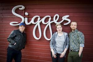 Robban Pettersson känd från Takida och Stiftelsen är en av ägarna till den nystartade restaurangen Sigges i Viskan. Paret Linus Lundberg och Anna Frostsol har flyttat från Linköping för att driva restaurangen.