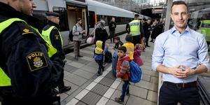 Europaparlamentarikern Tomas Tobé (M) har presenterat konkreta reformer för att stoppa den fria rörligheten för kriminella, för att rädda klimatet och för en mer kontrollerad invandringspolitik - det är nu dags att börja arbetet, skriver han i en debattartikel för DT. Foto:  Stig-Åke Jönsson/TT, Pressbild