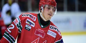 Jonathan Johnson är hockeyallsvenskans poängkung.