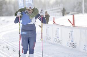 Olivia Hansson hade god marginal för att stanna och ta emot segerkransen på upploppet. I mål var hon ändå över fem minuter före tvåan, Susanna Hedlund, som hon tidigare i vinter inte hade rått på.
