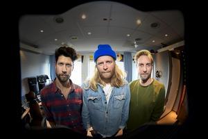 Movits med Joakim Nilsson, Johan Rensfeldt och Anders Rensfeldt släppte ny musik hösten 2018. Foto: Pontus Lundahl / TT