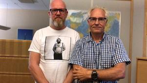 Leif Westberg och Stefan Östlund.