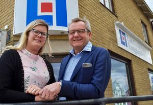 Christine Nord har tagit över närservicekontoret efter Arne Gustavsson.