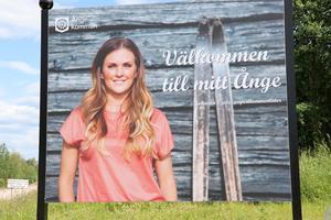 Så här blev slutresultatet när bilden på Johanna Ojala kommit på plats.