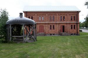 Bryggerimuseet Ölmuseum Arboga museer. Tidigare har Bryggerimuseet i Arboga fungerat som lager för malt. Foto: Peter Krüger