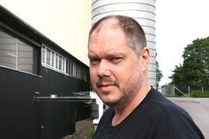 Klas Fridlund, ordförande i den lokala Metallklubben på Trioplast i Fjugesta.