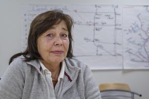 Carina Kälvedal, platschef i Odenskog för Bussgods.