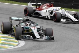 Marcus Ericssons race i Brasilien tog slut redan på 21:a varvet. Foto: Andre Penner/TT