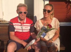 Far och dotter, Mats och Johanna Sollerman.