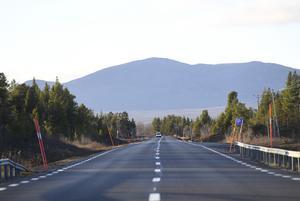 Väg E10 mellan Kiruna och Narvik Foto: Fredrik Sandberg / TT
