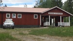 Stab upprättad vid Broddbo hembygsgård.