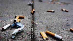 Spår av Södertäljes rökare. Arkivbild.