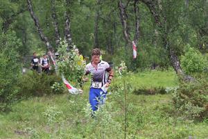 Markbygdens Johan Högstrand tog hem herrarnas seniorklass. 22-åringen vann även i fjol.
