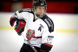 Emma Nordin satte avgörande 4-3 för Modo i seriefinalen mot Linköping