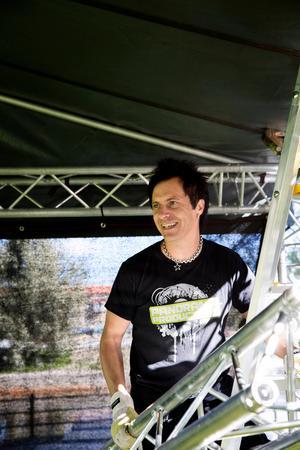 Per Staffas är Falu kommuns evenemangssamordnare.