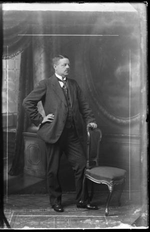 Harald Billman, VKF:s förste intendent. Foto: Västerås Konstförening