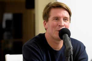 Huokko gästar Hockeypuls podcast för att prata om sin karriär och nuvarande liv. Foto: Adam Johansson.