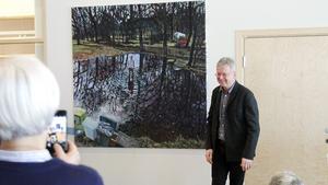 Konstnären Staffan Westerlund står bakom verket