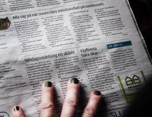 VLT har många engagerade insändarskribenter. Foto: Daniel Gustafsson