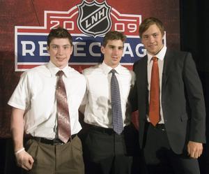Matt Duchene, John Tavares och Victor Hedman. Foto: AP Photo/The Canadian Press, Paul Chiasson