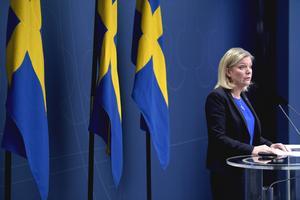 Finansminister Magdalena Andersson Foto: Janerik Henriksson