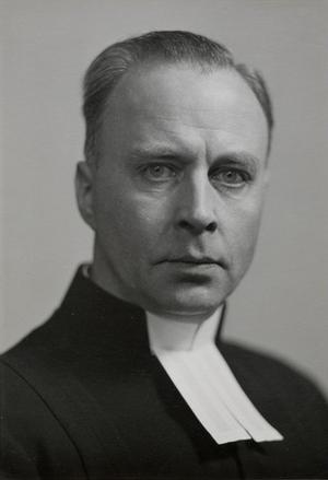 Biskop John Kullberg 1940. Foto: Gunnar Sundgren
