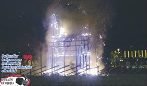 2009 års bränning höll Ocean's eleven-klass.