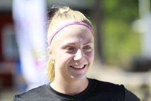 Årsundas Emelie Bernhardsson har gjort 13 mål den här säsongen.