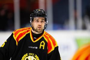 Lukas Kilström har drabbats av en hjärnskakning. Bild: Tobias Sterner/Bildbyrån.