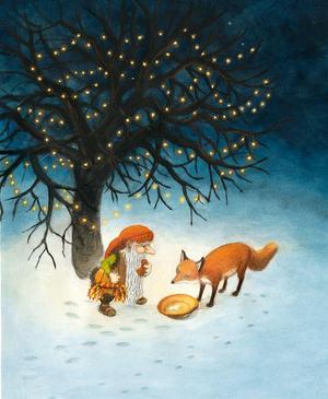 """I år ges för första gången Astrid Lindgrens """"Räven och tomten"""" ut."""