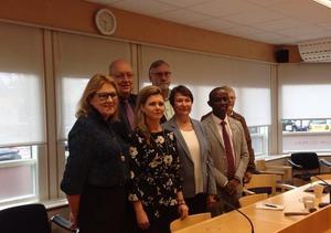 Landstinget Dalarna står inför ett maktskifte och kommer att ledas av Ulf Berg (M), Sofia Jarl (C), Bo Brännström (L), Lisbeth Mörk-Amnelius (DSP), Birgitta Sacrédeus (KD), Mursal Isa (MP) och Ingvar